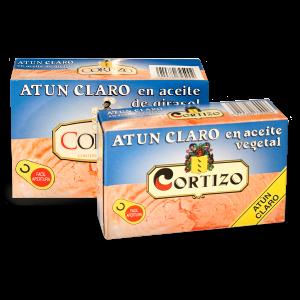 Atún claro en aceite vegetal latas LO120 y LO240