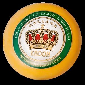 Queso gouda holandés