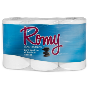 Papel higiénico Romy 6 rollos