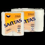 Papel higiénico Comercial Santas