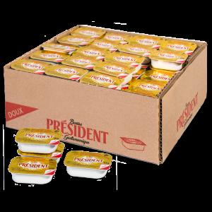 Mantequilla monodosis President