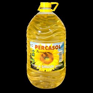 Aceite de girasol Percasol garrafa 5 L