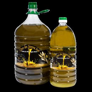 Aceite de oliva virgen extra 5 y 2 L