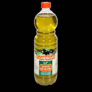 Aceite de oliva suave Capicua botella 1 L