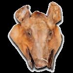 Cabeza de cerdo curada