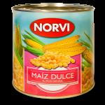 Maíz dulce al natural lata 3 Kg