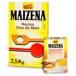 Maizena, harina y espesante