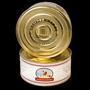 Mejillones en escabeche 130/140 pz.