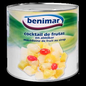 Cóctel de frutas en almíbar 3Kg
